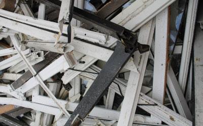 PVC-Fenster und -Rollladen