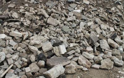 Beton sortenrein, ohne Übergröße