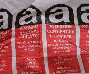 Asbesthaltiger Abfall