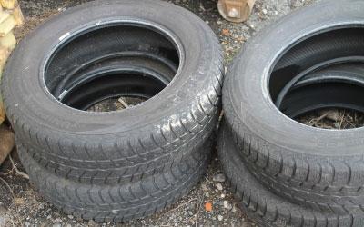 Pkw Reifen Ohne Felge Avv Nr 160103 Baustoffe