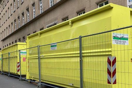Abrollcontainer zur Miete in Koblenz Südallee