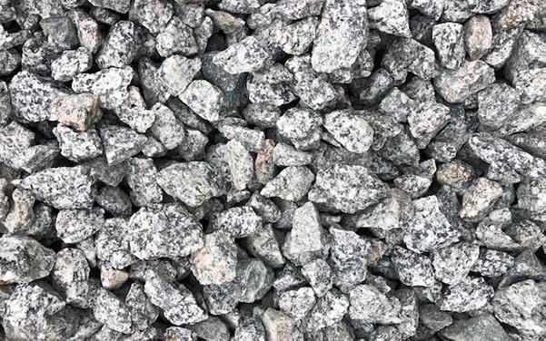 Granit-Splitt im Format 16-32mm
